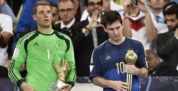Messi 'Altın Top'u aldı, dünya basını 'skandal' dedi