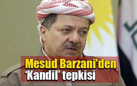 Mesud Barzani'den 'Kandil' tepkisi