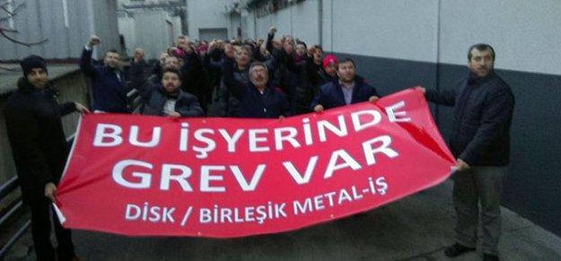 Metal işçileri 10 kentte grevde