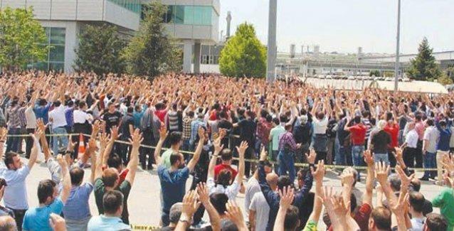 Metal işçilerinin direnişi: Renault, 3 yöneticisini Bursa'ya gönderdi