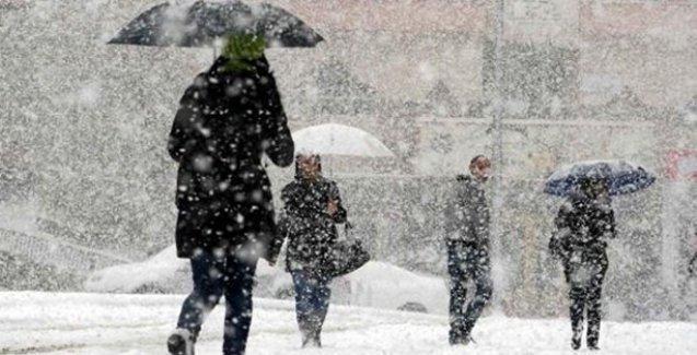 Meteorolojiden 11 il için kar ve yağmur uyarısı