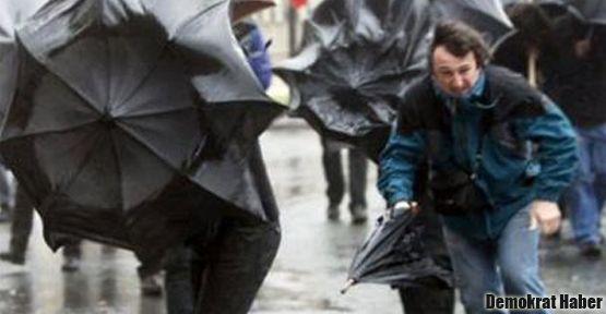 Meteorolojiden kuvvetli yağış için uyarı