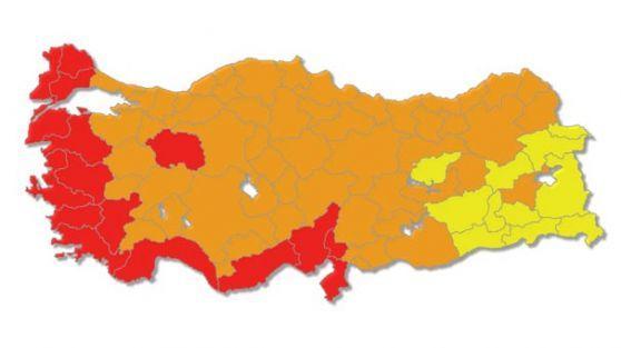MHP seçim haritasından silindi!