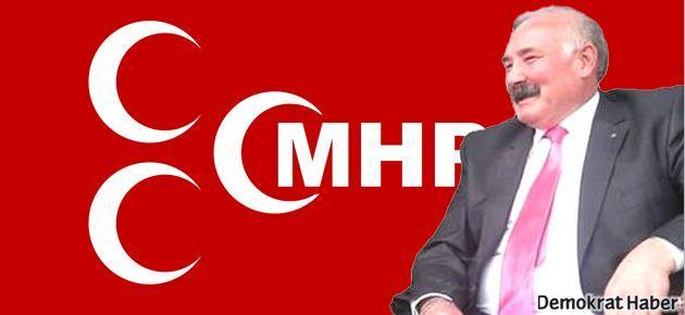 MHP'nin Alevisi istifa etti