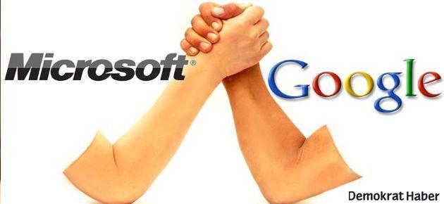 Microsoft'tan Google'a büyük suçlama!
