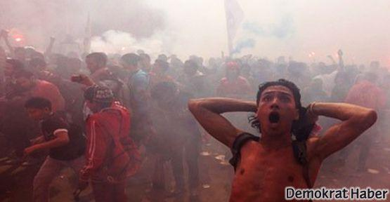 Mısır'da Futbol Federasyonu binası ateşe verildi