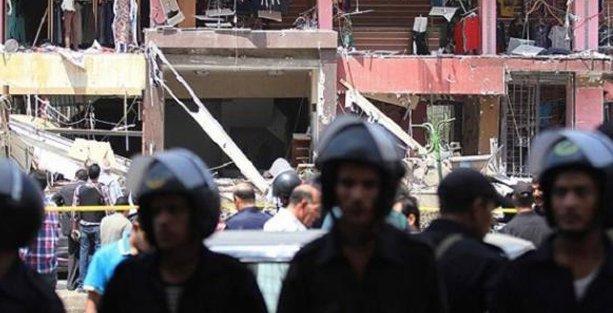 Mısır'da polislere bombalı saldırı düzenlendi