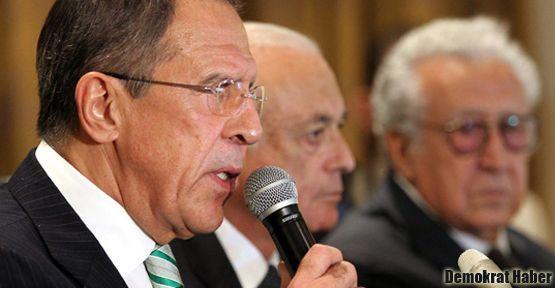 Mısır'da Suriye konulu ortak basın toplantısı