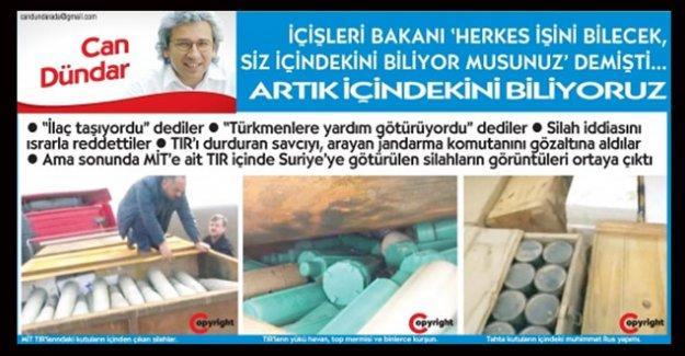 MİT TIR'ları haberi için Cumhuriyet'e 'terör' soruşturması