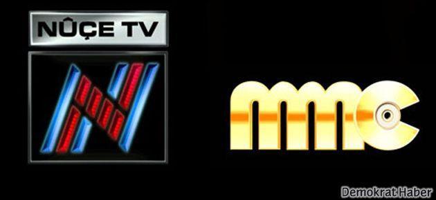 MMC, Nuçe TV ve Roj TV'nin yayın lisansları iptal edildi