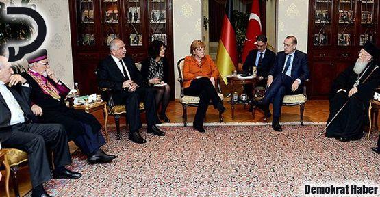 Mor Gabriel, Erdoğan ve Merkel