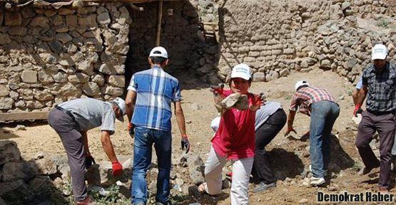 Mor Kiryakus Manastırı'nda yıllar sonra temizlik