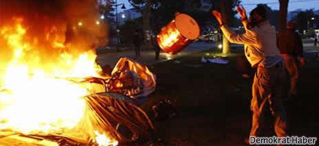 Müfettişler: Gezi'deki çadırları polis değil, zabıta yaktı