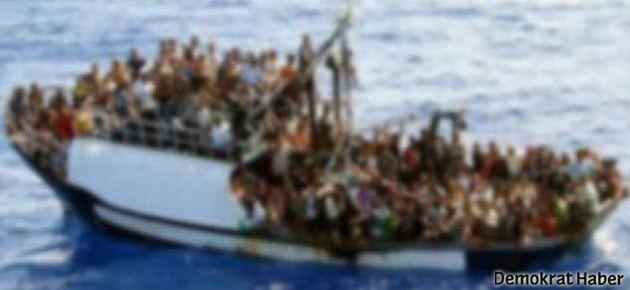 Mülteci teknesi battı: 62 ölü