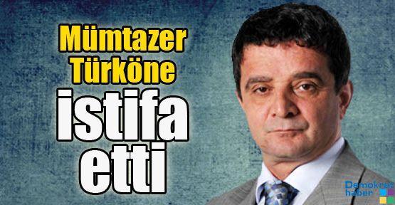 Mümtazer Türköne istifa etti