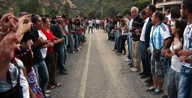 Munzur'da HES'lere karşı 5 kilometrelik halay