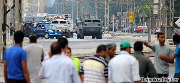 Mursi destekçilerine yine müdahale
