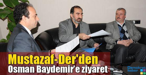 Mustazaf-Der'den Osman Baydemir'e ziyaret
