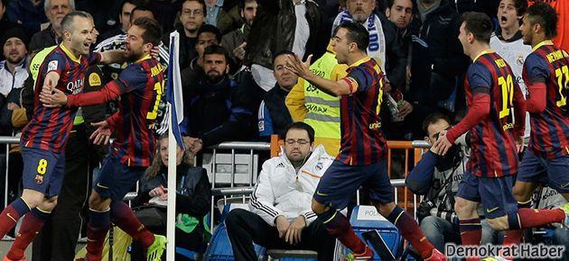 Müthiş düello Barça'nın