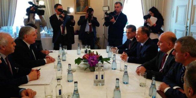 Nalbandyan ve Barzani, Münih'te bir araya geldi