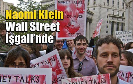 Naomi Klein Wall Street İşgali'nde