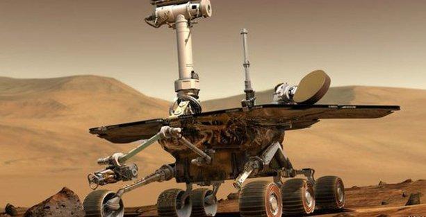 NASA: Mars robotu hafızasını kaybetti