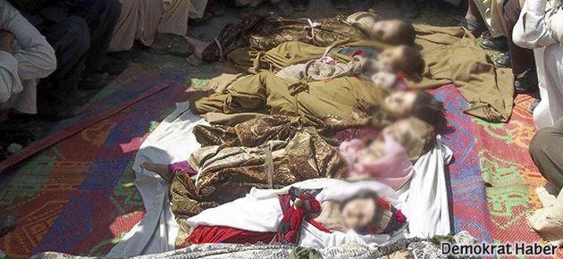 NATO Afganistan'da 10 çocuk öldürdü