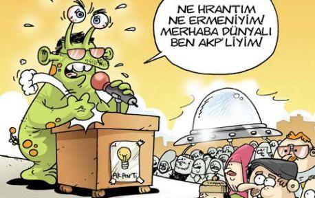'Ne Hrant'ım ne Ermeniyim! Ben AKP'liyim'