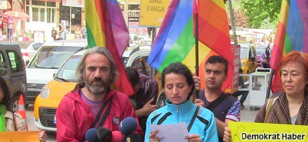 Nefret saldırıları Diyarbakır'da protesto edildi