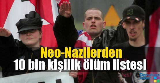 Neo-Nazilerden 10 bin kişilik ölüm listesi