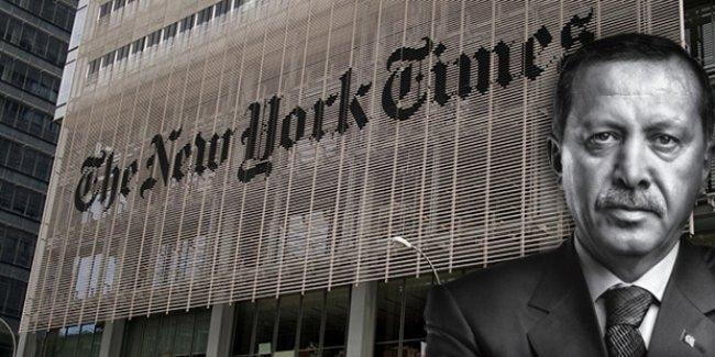 New York Times'dan Erdoğan'a: Hangi lider Beyaz Saray'dan 30 kat daha büyük bin yüz elli odalı yere sahip?