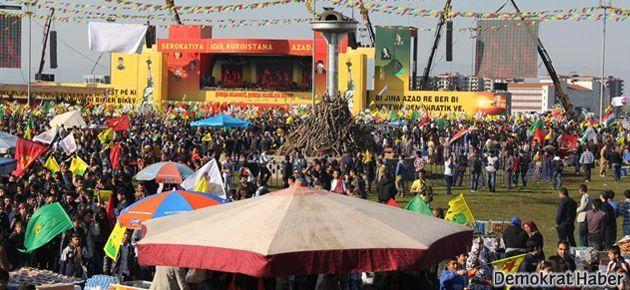 Newroz'da Cemil Bayık'ın mesajı okundu