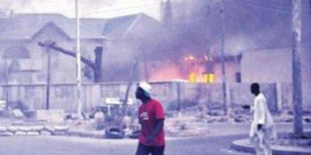 Nijerya'da camiye saldırı: 64 ölü