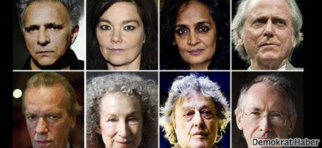 Nobelli yazarlar: Gözetlemek hırsızlıktır!