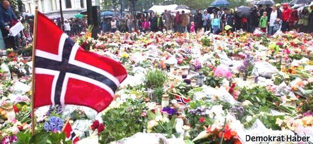 Norveç'te Breivik katliamının kurbanları anıldı