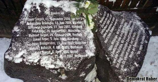 NSU terörüne kurban gidenler için Hamburg'da anıt