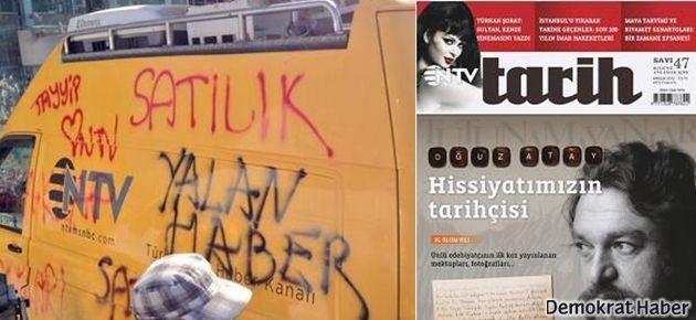 NTV Tarih dergisinde 'Gezi' kapağı anlaşmazlığı