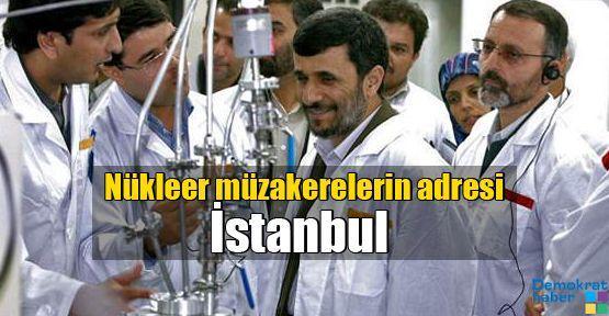 Nükleer müzakerelerin adresi İstanbul
