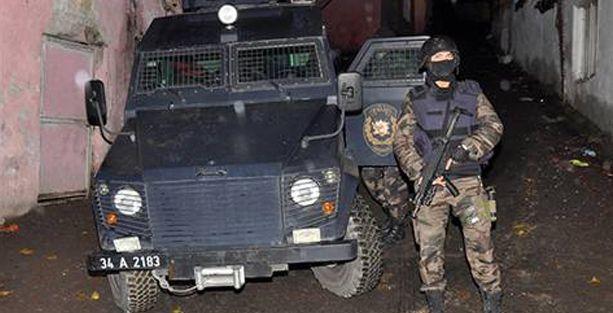 Nurtepe, Gazi ve Sancaktepe'ye polis baskını: 28 gözaltı