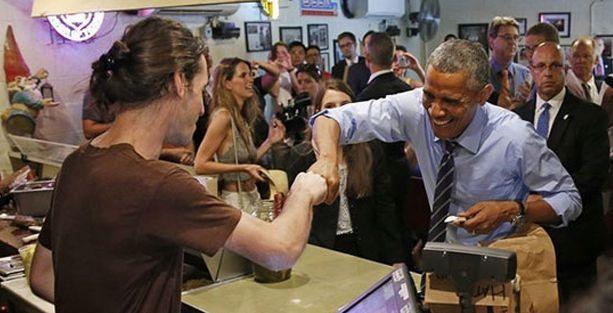 Obama, bir eşcinselin hak talebini 'çocuklar var' diyerek geçiştirdi