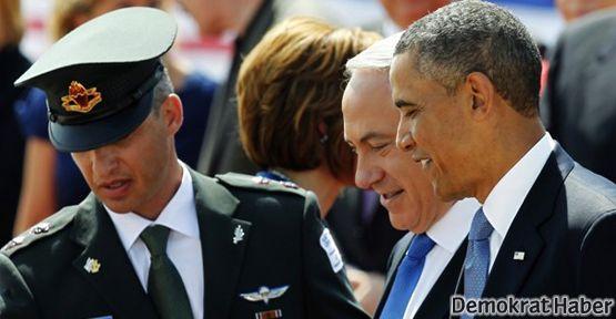 Obama Filistin'le yanyana güçlü bir Yahudi devleti istiyor