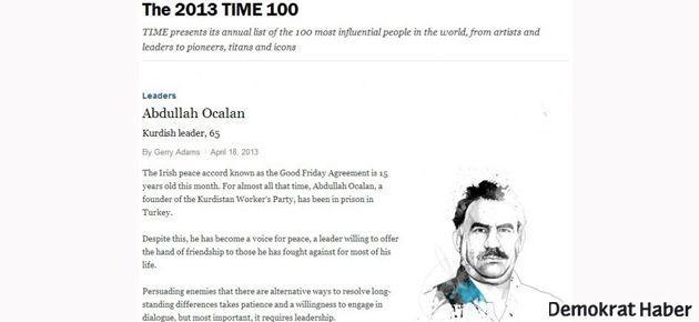 Öcalan ve Gülen, dünyanın en etkili 100 ismi arasında