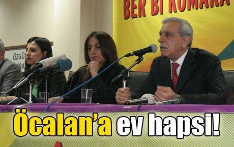 Öcalan'a ev hapsi!