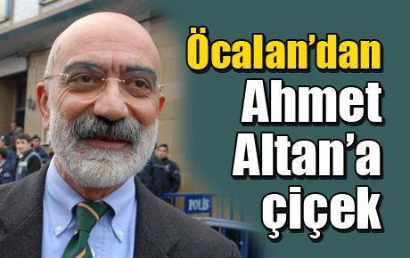 Öcalan'dan Ahmet Altan'a çiçek