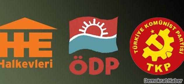 Ankara'da HDP, ÖDP, TKP ve Halkevleri anlaşamadı