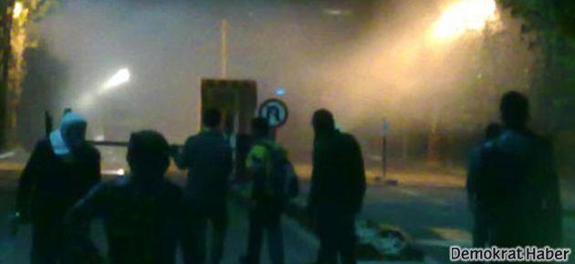 ODTÜ'de TGB'liler ile üniversiteliler arasında çatışma