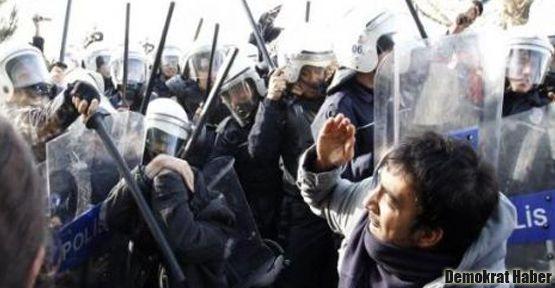 ODTÜ'de Başbakan gözaltıları