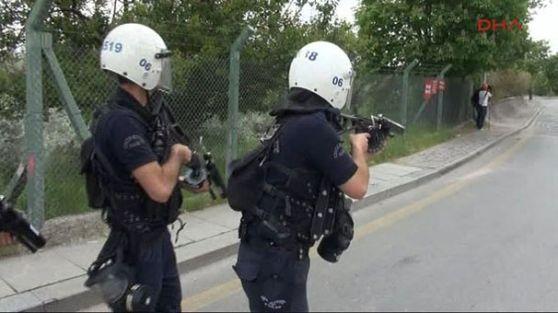 ODTÜ'lülere polis müdahalesi