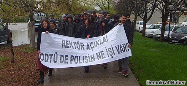 ODTÜ'nün sivil polisleri deşifre oldu