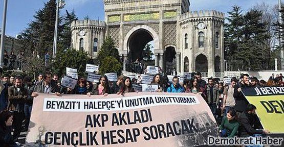 Öğrenciler Halepçe ve Beyazıt Katliamlarını andı